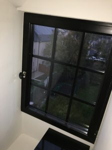Fenêtre aluminium noir en Essonne