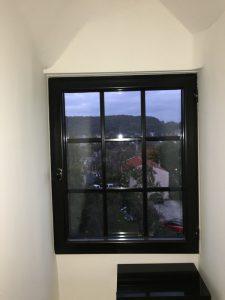 Pose fenêtre alu 91 petits bois